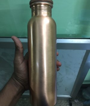 Copper Water Bottle – 1 Litre
